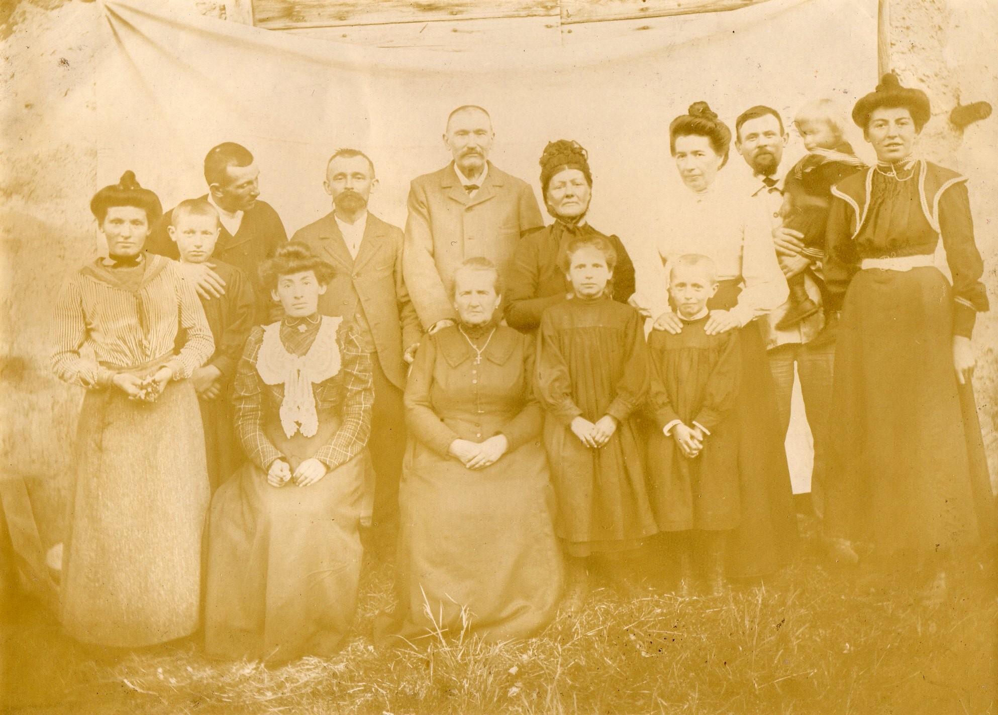 Famille BERTHET et Arbez 2
